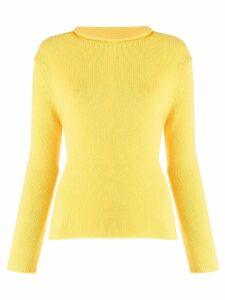 Ermanno Scervino fine knit sweater - Yellow