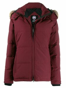 Canada Goose padded jacket with removable trim - Red