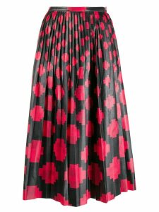 Marni pleated midi skirt - Black