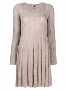 M Missoni ribbed knit dress - PINK