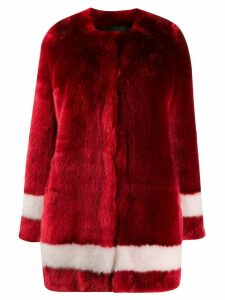 La Seine & Moi Petra coat - Red