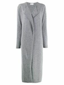Allude long cardi-coat - Grey