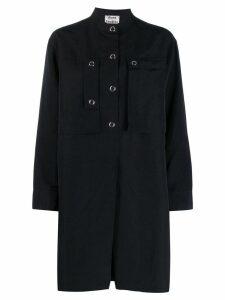 Acne Studios boxy shirt dress - Black