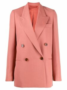 Acne Studios boxy fit blazer - Red