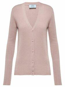 Prada knitted cardigan - Neutrals