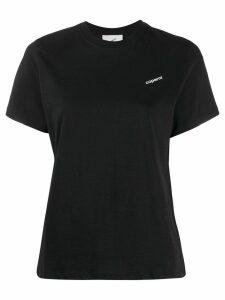 Coperni printed logo T-shirt - Black