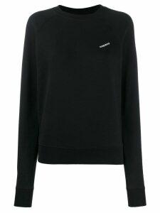 Coperni printed logo jumper - Black