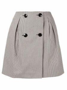 Paule Ka checked mini skirt - Multicolour