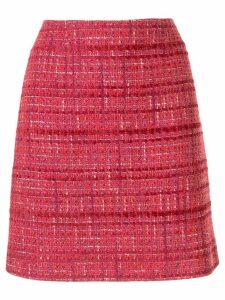 Paule Ka tweed mini skirt - Pink