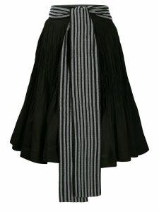 JW Anderson belted skirt - Black