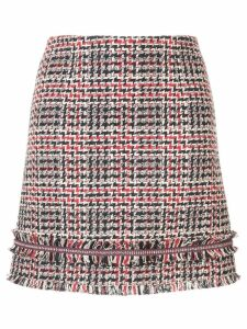 Paule Ka Prince of Wales check skirt - Blue