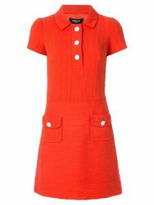 Paule Ka short-sleeve mini dress - Orange