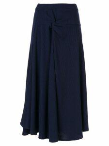 Maggie Marilyn Honey Ain't Home skirt - Blue