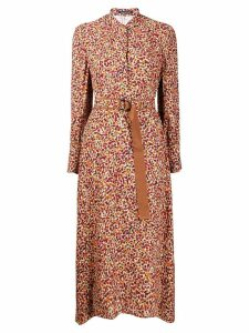 Luisa Cerano floral day dress - Pink