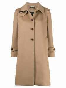 Miu Miu single-breasted midi coat - Brown