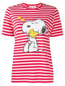 Chinti & Parker snoopy striped t-shirt - Red