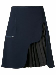 Toga pleated panel skirt - Blue