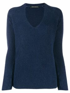Iris Von Arnim oversized cashmere sweater - Blue