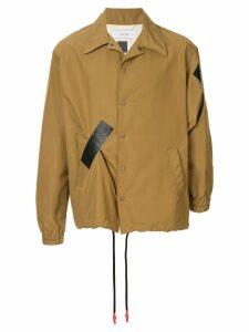 Facetasm casual tape jacket - Brown