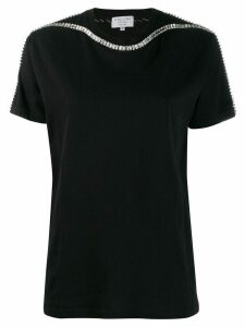 Collina Strada crystal-embellished T-shirt - Black
