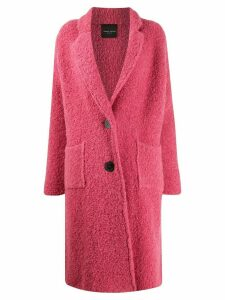 Roberto Collina single-breasted coat - Pink