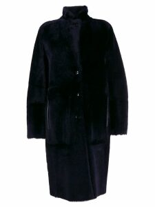 Joseph reversible mid-length coat - Blue