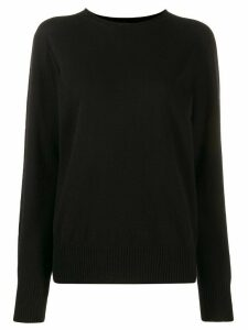 Maison Margiela round neck sweater - Black