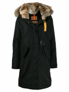 Parajumpers hooded parka coat - Black