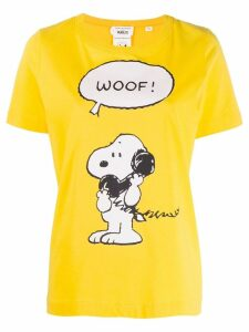 Chinti & Parker Snoopy print T-shirt - Yellow