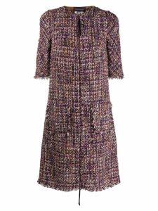 Talbot Runhof Tola dress - Purple