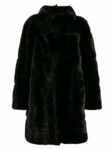 Simonetta Ravizza mid-length coat - Black
