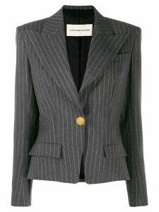 Alexandre Vauthier pinstripe blazer - Grey