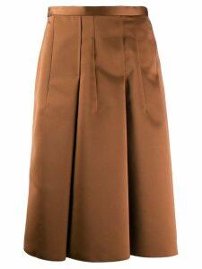 Nº21 gonna tessuto skirt - Neutrals