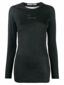 1017 ALYX 9SM Nike logo sweatshirt - Black