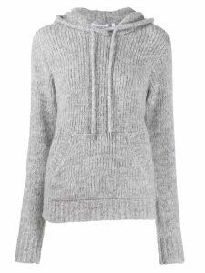 Helmut Lang hooded jumper - Grey