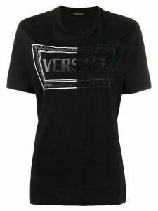 Versace 90s logo T-shirt - Black