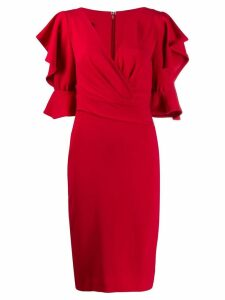 Talbot Runhof Tondril dress - Red