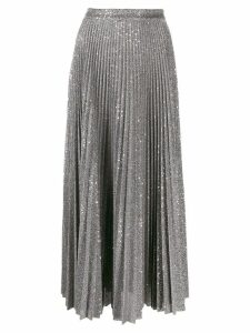 Dondup sequin-embellished midi skirt - Grey