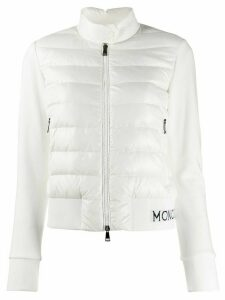 Moncler padded panels jacket - White
