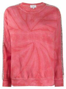 Collina Strada tie-dye sweatshirt - Red