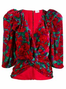 Magda Butrym Toledo blouse - Red