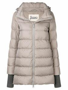 Herno hooded puffer jacket - Grey