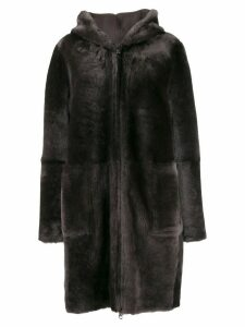 Arma Wasson reversible shearling coat - Brown