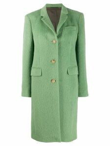 Acne Studios single-breasted coat - Green