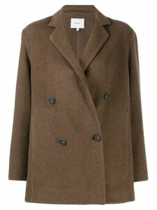 Vince double-breasted blazer - Brown