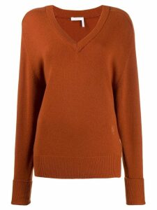 Chloé knitted sweatshirt - Brown
