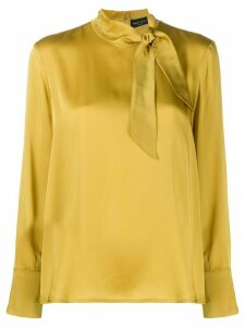 Roberto Collina neck-tied blouse - Yellow