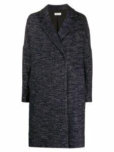 Twin-Set belted midi coat - Blue