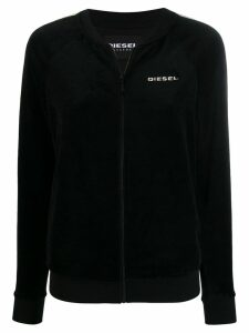 Diesel UFLT-BONSHIN-Z zip up sweatshirt - Black