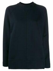 Cédric Charlier relaxed-fit raglan sweatshirt - Blue